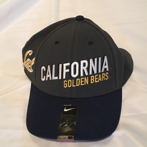 d1eb09e5aa7 California Golden Bears Nike Dri-Fit Flex-Fit Hat